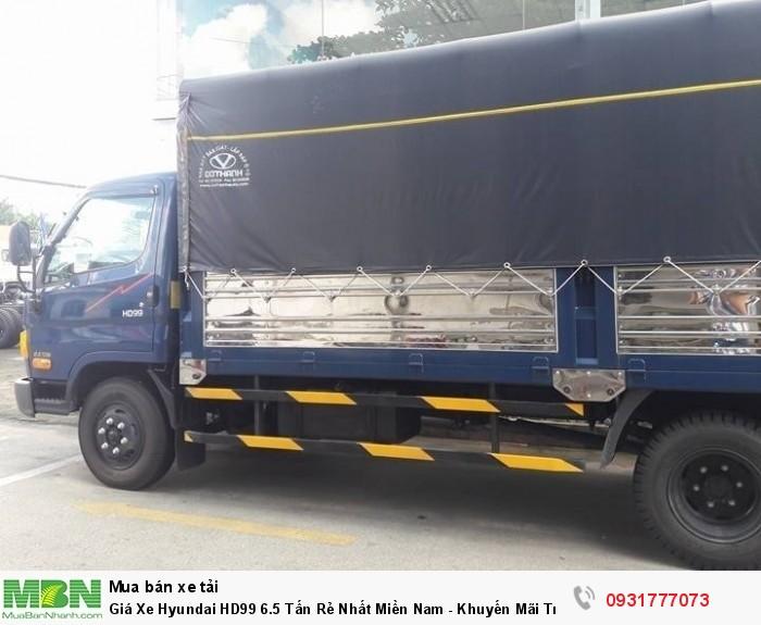 Giá Xe Hyundai HD99 6.5 Tấn Rẻ Nhất Miền Nam - Khuyến Mãi Trước Bạ Xe Hyundai HD99 6.5 Tấn 3