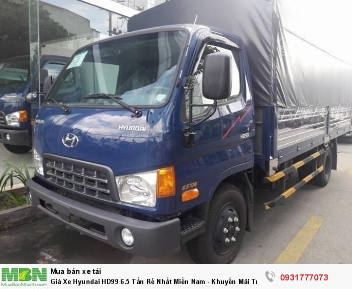 Giá Xe Hyundai HD99 6.5 Tấn Rẻ Nhất Miền Nam - Khuyến Mãi Trước Bạ Xe Hyundai HD99 6.5 Tấn 4