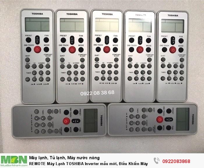 REMOTE Máy Lạnh TOSHIBA, Mới 100%, giá 130k