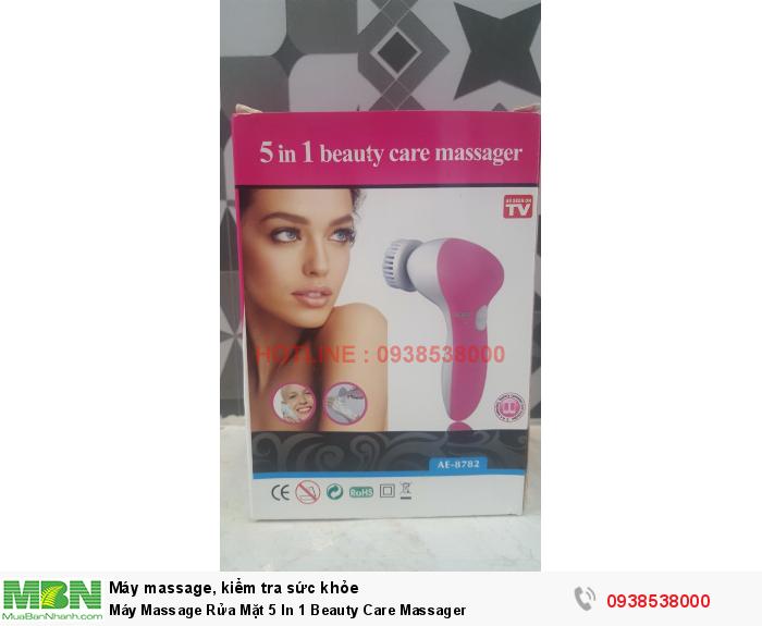 Máy Massage Rửa Mặt 5 In 1 Beauty Care Massager