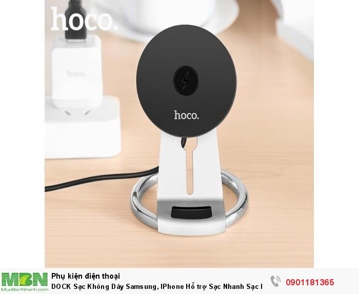 Dock sạc Hoco CW5 nhằm giúp cho người dùng nhanh chóng sạc đầy dung lương cho PIN và sạc ở bất cứ đâu (trong xe hơi,phòng khách...)
