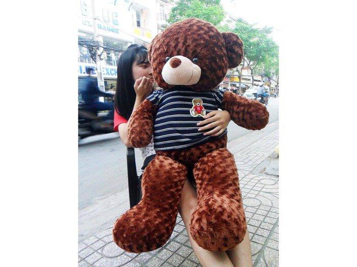 Gấu Teddy dài 1m23