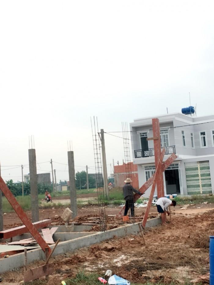 Đất mặt tiền đường Nguyễn Văn Bứa, SHR, 125M2
