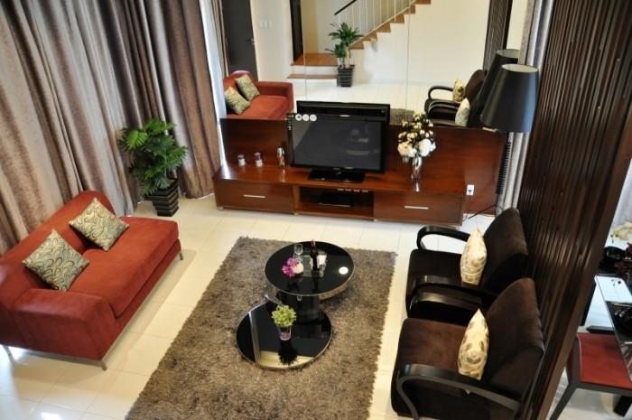 Cần bán gấp căn biệt thự Song Lập 355m2, nhà đẹp giá 20 tỷ đầy đủ nội thất.