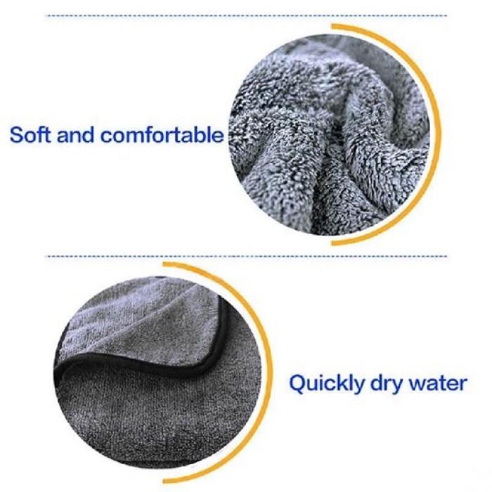 Khăn siêu sợi lông xoắn dày, hút nước2