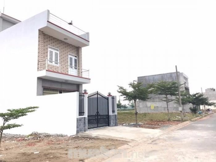 Đất Hóc Môn giáp Bình Chánh vị trí tốt, mua ở xây liền