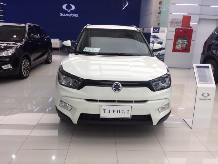 Ssanyong tivoli nhập khẩu nguyên chiếc Hàn Quốc, 120 triệu nhận xe