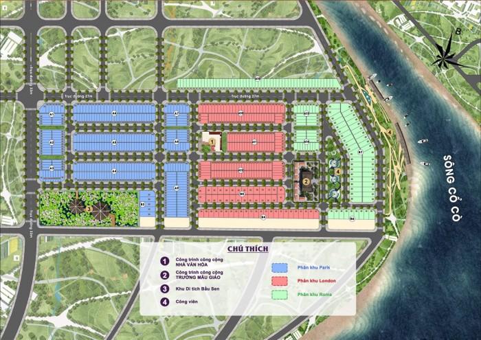 Bán đất khu đô thị mới tích hợp những tiện ích nội ngoại khu cao cấp .