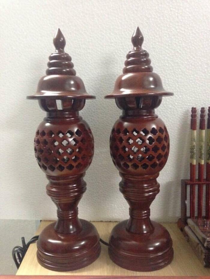 đèn thờ gỗ1