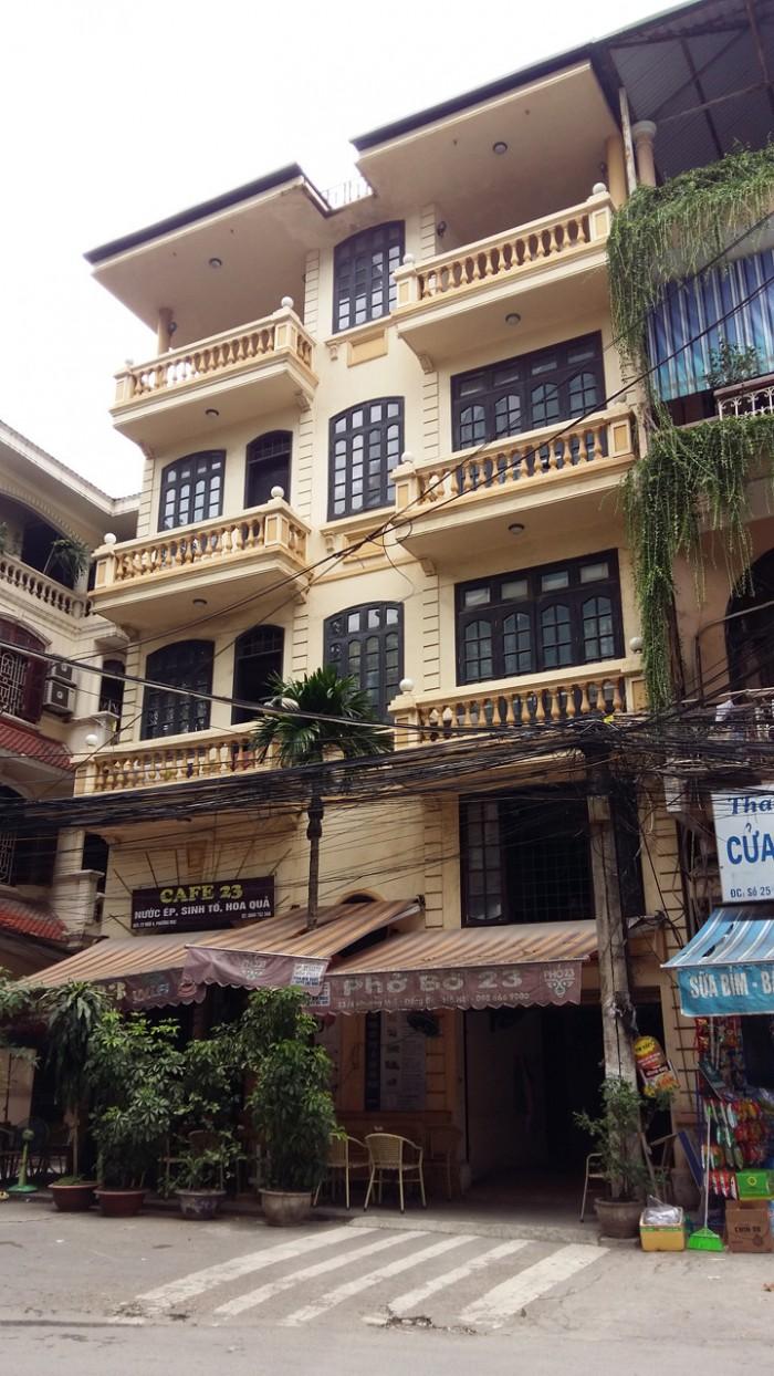 Bán nhà ngõ 55 Trần Phú,diện tích 80/114,xây 4.5 tầng,đang cho thuê cả nhà 60tr/tháng,
