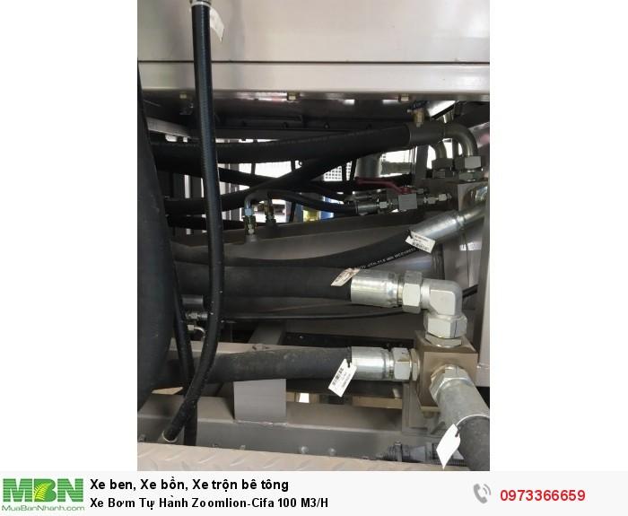 Xe Bơm Tự Hành Zoomlion-Cifa 100 M3/H