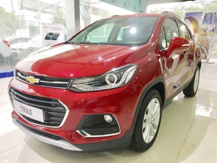 Tiền Giang: Chevrolet Trax 2017 - Sở hữu ngay với giá chỉ bằng Ecosport - ngân hàng 24h 0