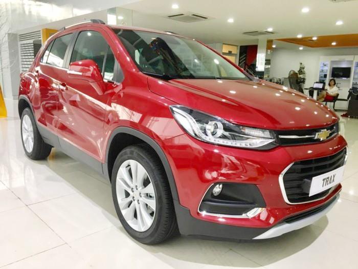 Tiền Giang: Chevrolet Trax 2017 - Sở hữu ngay với giá chỉ bằng Ecosport - ngân hàng 24h 2
