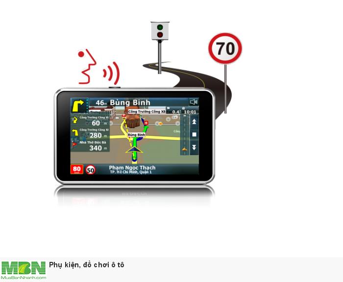 VietMap S1 có tính năng cảnh báo tốc độ giới hạn trên từng cung đường bằng giọng nói, giúp bạn lái xe an toàn hơn