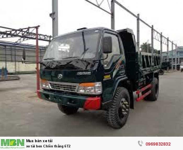 xe tải ben Chiến thắng 6T2