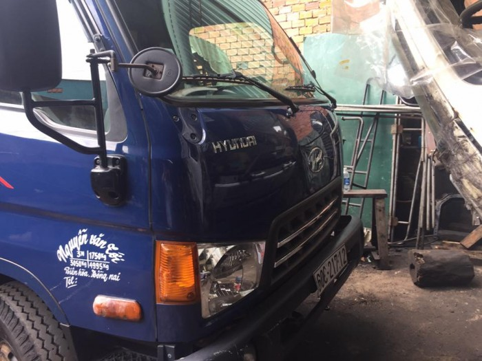 Bán xe tải hyundai hd 65 hạ tải vào tp ban ngày đời 2015 6
