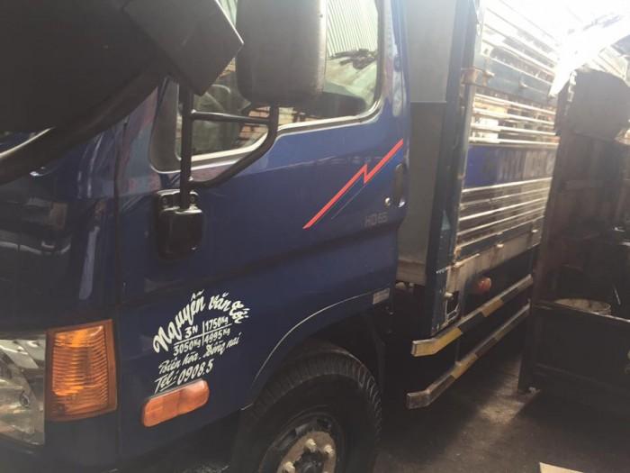 Bán xe tải hyundai hd 65 hạ tải vào tp ban ngày đời 2015 8