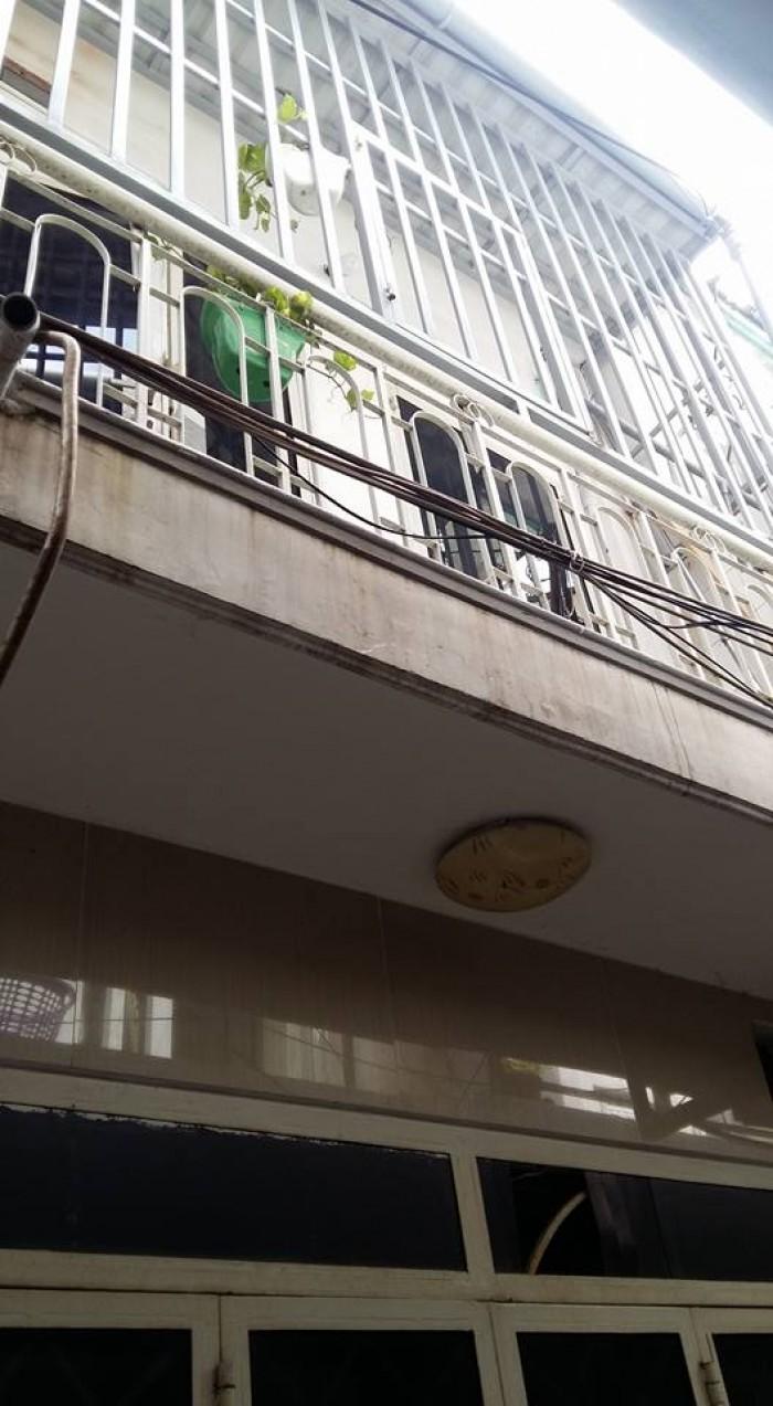 Nhà bán đường Huỳnh Văn nghệ,p12 Gò Vấp ,dt,3x6 đúc 1 trệt 1 lầu,1 lửng,
