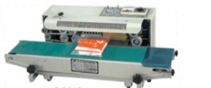 Máy hàn miệng túi liên tục FR-900, máy hàn mép túi0