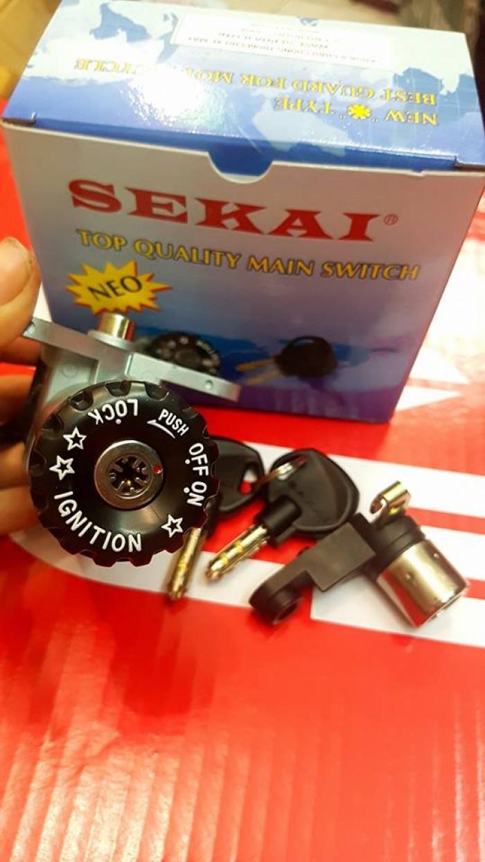 Ổ khóa 8 cạnh Seikai cho nhiều loại xe