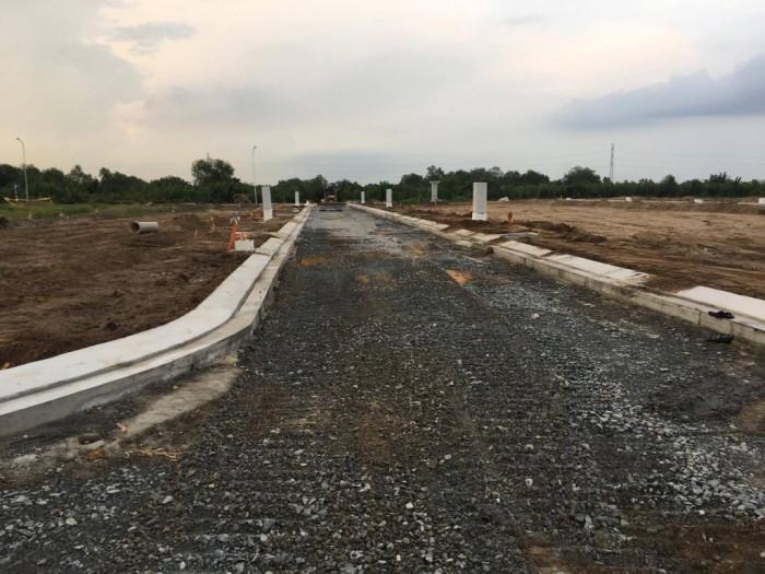 Đất đường Nguyễn Cửu Phú gần vòng xoay An Lạc