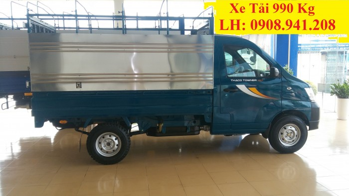 Giá xe thaco truong hai 990kg / Động cơ SUZUKI Nhập Khẩu