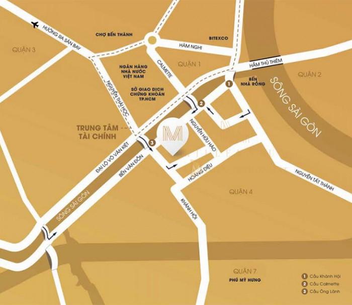 Cần bán gấp căn hộ 2PN dự án Millennium, căn A.1X.09, view Q1, sông SG. Giá 5.2ty.