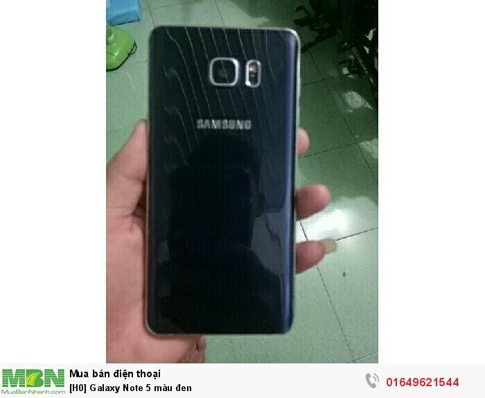 Galaxy Note 5 màu đen