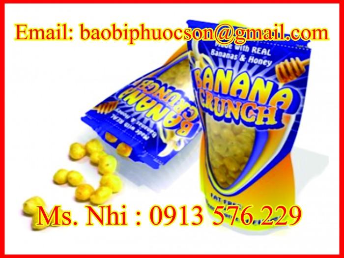 Chuyên cung cấp bao bì màng ghép pa-pe đựng bánh kẹo