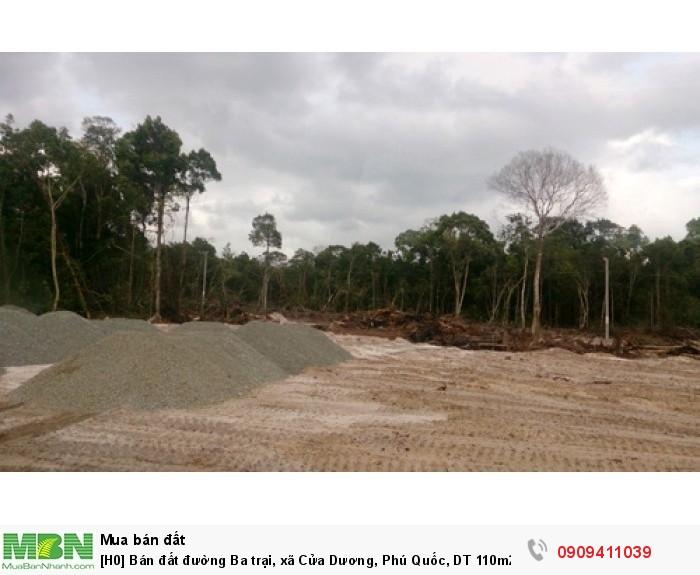 Bán đất đường Ba trại, xã Cửa Dương, Phú Quốc, DT 110m2 giá 200tr, có SHR.