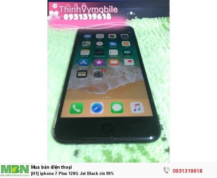 Iphone 7 Plus 128G Jet Black zin 99%