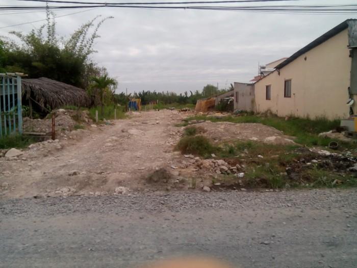 Đi Định Cư Mỹ Bán Gấp 220m2 Đất Thổ Cư, Shr, Mt Phạm Hữu Lầu, Nhà Bè