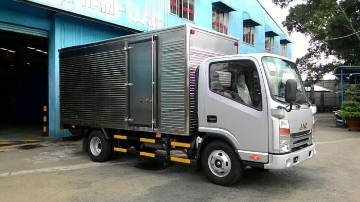 Xe tải JAC máy ISUZU thùng dài 3m7, xe tải JAC 2 tấn 4 chất lượng tốt, giá xe tải JAC máy ISUZU 2 TẤN 4/2400KG/ 2 TẤN 4