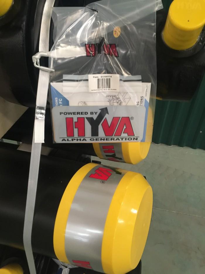 Tháp ben HYVA & Cẩu gập HYVA 12
