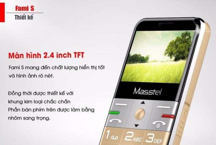 Masstel Fami S 2 Sim, Phù Hợp Với Người Lớn Tuổi + Tặng Kèm Dock Sạc - MSN3882751