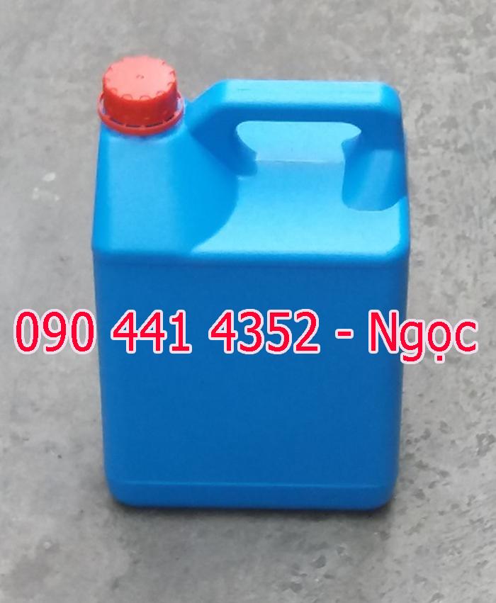 Can nhựa đựng axít nhỏ 1 lít, 2 lít, 4 lít, 5 lít chất lượng an toàn