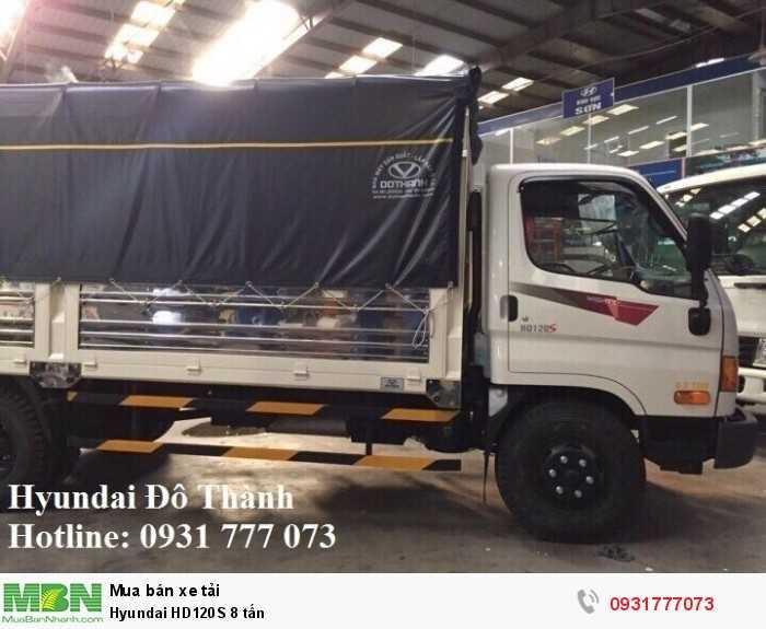 Hyundai HD120S 8 tấn