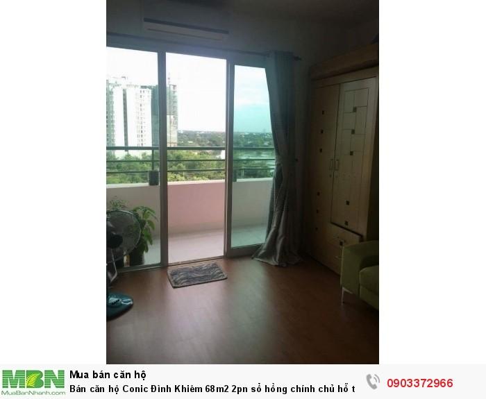 Bán căn hộ Conic Đình Khiêm 68m2 2pn sổ hồng chính chủ hỗ trợ vay 70%