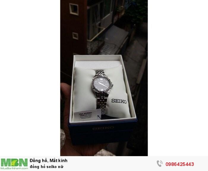Đồng hồ seiko nữ0
