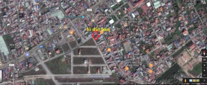 Bán Lô đất 84m2 cạnh TDC Vườn Hồng,chân cầu vượt Đông Hải