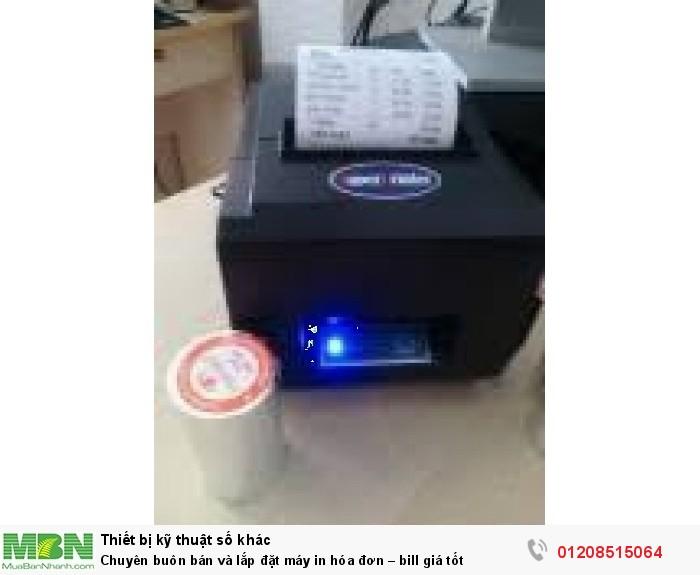 Chuyên buôn bán và lắp đặt máy in hóa đơn – bill giá tốt