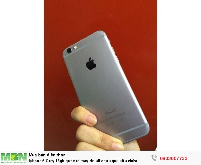 Iphone 6 Grey 16gb quoc te may zin all chưa qua sữa chữa