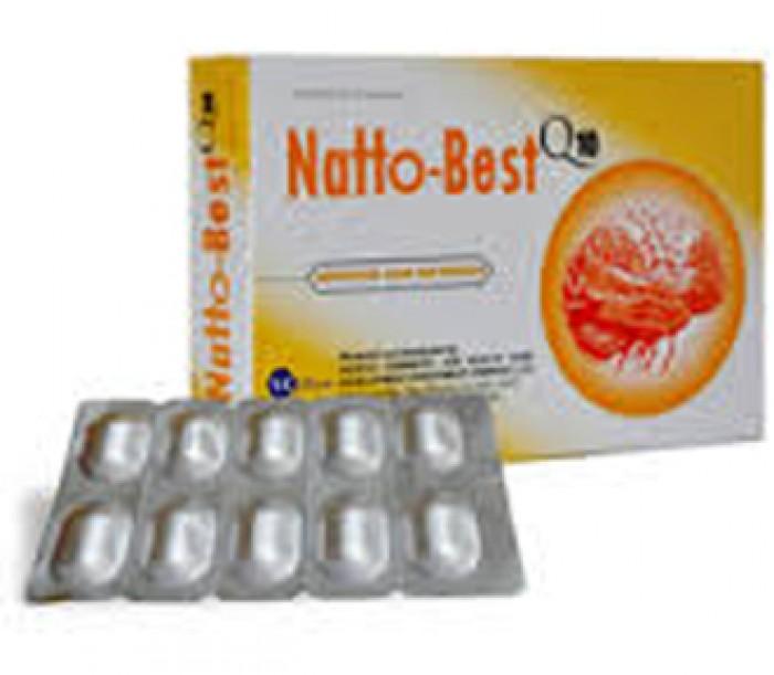 Bán sản phẩm NATTOBEST Q10-Tăng trí não, tan máu đông, ngừa tai biến0