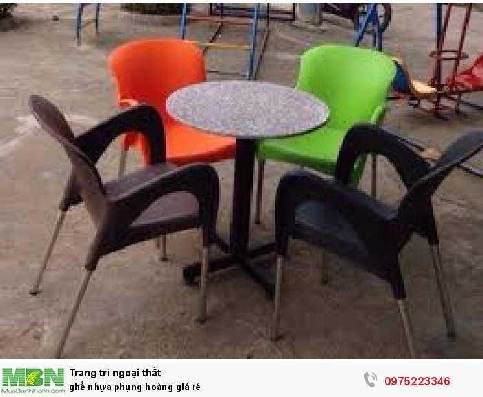 Ghế nhựa phụng hoàng giá rẻ..1