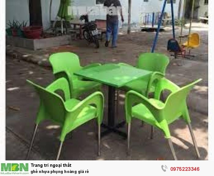 Ghế nhựa phụng hoàng giá rẻ..2