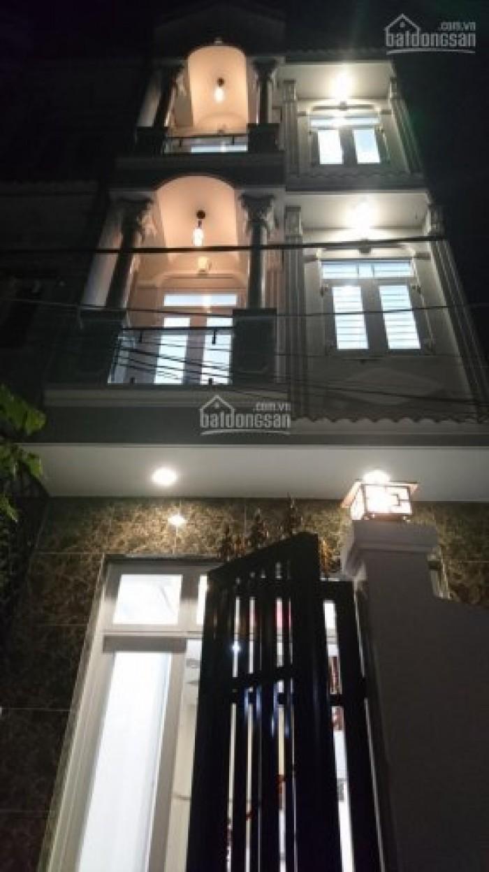 Bán nhà sổ hồng riêng hẻm 2174/2/15A Huỳnh Tấn Phát, Nhà Bè, DT 4m x 12m, 2 lầu, 4PN, giá 2.48 tỷ