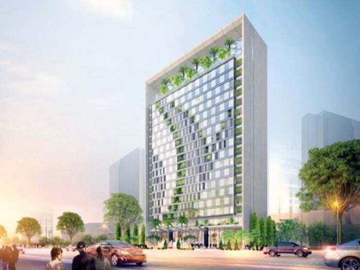 Cho thuê mặt bằng tầng 292m2 tòa nhà TTC, đối diện công viên Hoàng Văn Thụ. 250tr/tháng
