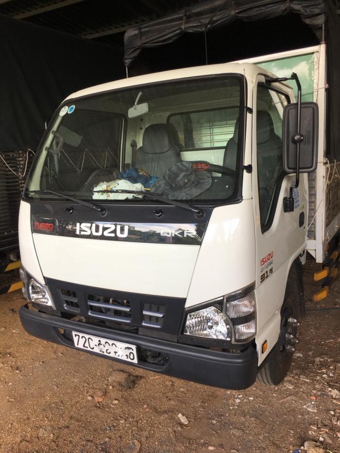 Isuzu 1,9 tấn thùng mui bạt 2016 chính chủ