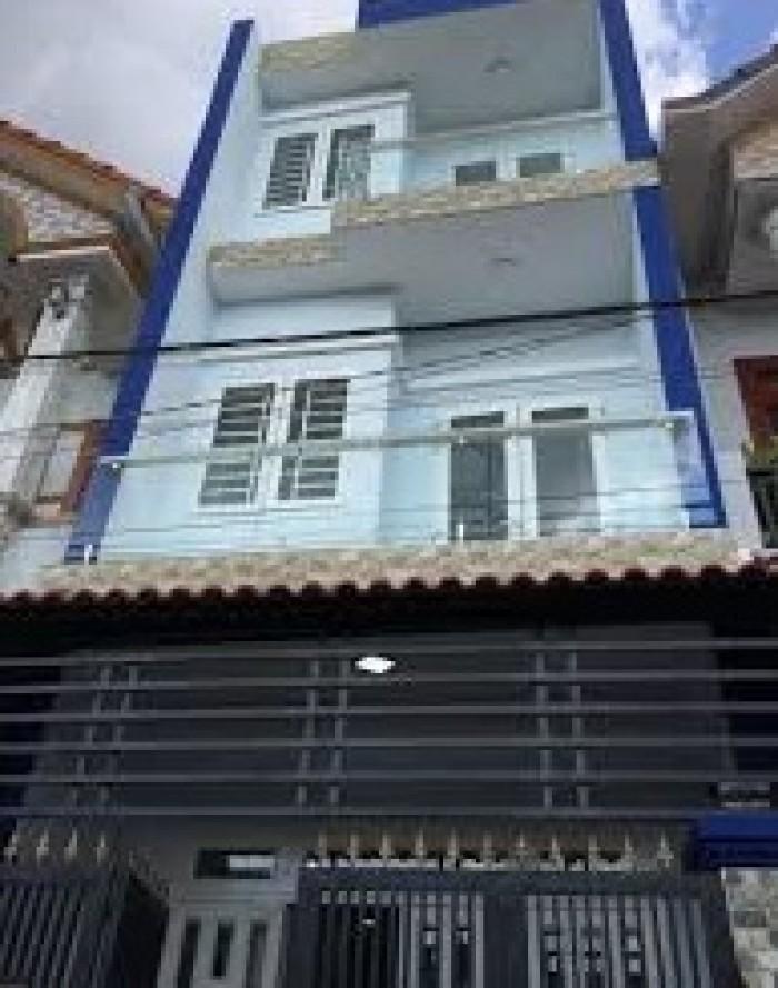 Nhà sổ hồng chính chủ Bình Tân 2 lầu gần chợ cty Ponchen