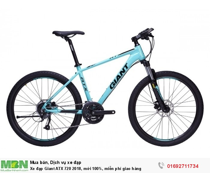 Xe đạp Giant ATX 720 2018, mới 100%, miễn phí giao hàng